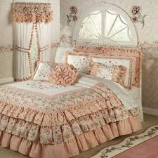 i love this melody ruffled grande bedspread c from touch of class