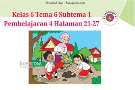 Kunci jawaban buku tematik (halaman 19). Kunci Jawaban Buku Tematik Tema 6 Kelas 6 Halaman 21 25 26 27 Koesrow