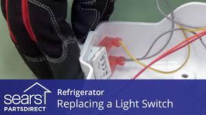 Refrigerator Door Light Switch Replacement How To Replace A Refrigerator Light Switch