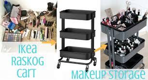 interior decorating ikea helmer makeup storage listitdallas