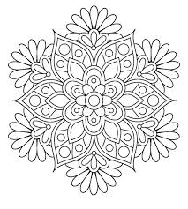Small Picture Interesting Design Ideas Flower Coloring Pages For Adults Adult