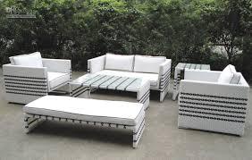 extraordinary white garden furniture 2017 black strip rattan sofa set