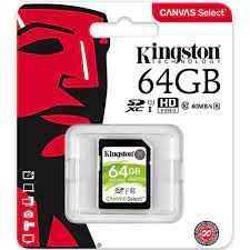 Thẻ nhớ SDXC Kingston Canvas Select 64GB Class 10 U1 SDS/64GB | Memoryzone  - Professional in memory