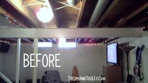 painted basement ceiling. Tips For Painting An Exposed Basement Ceiling, Ideas, Home Improvement, How To Painted Ceiling G