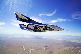 blast into space on rocket plane ...