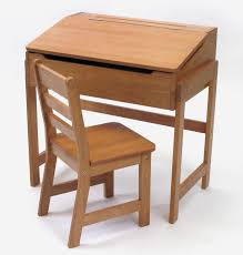 charming natural wooden desk chair children homework study set with table storage for placed on kids