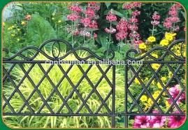 garden edging fence. Plastic White Picket Fence Garden Edging Border Fencing .