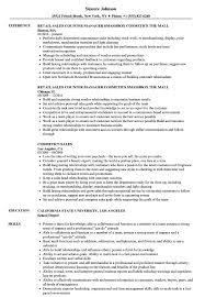 Cosmetic Sales Resume Sample Cosmetics Sales Resume Samples Velvet Jobs 10