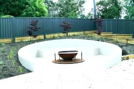 fire pit seating area ideas outdoor around fi