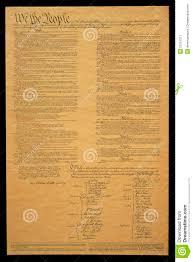 document of u s constitution stock image image  royalty stock photo document of u s constitution