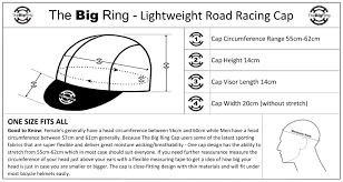 Big Ring Size Chart Cap Big Ring Arrow Blue Green