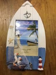 boat shape frame