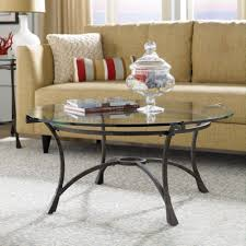 glass living room tables. The Eciting Traditional Glass Round Coffee Table In Living Room With Cream Sofa And Gray Carpet Tables A