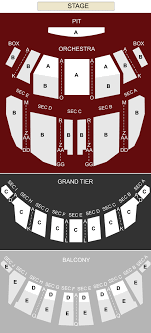 Altria Theater Richmond Va Seating Chart Stage