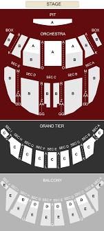 Center Stage Richmond Va Seating Chart Altria Theater Richmond Va Seating Chart Stage
