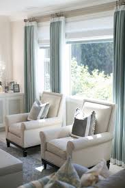 mostly textured creamy neutrals with soft green blue curtains very beachy