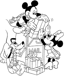 Small Picture Disney Christmas Coloring Pages GetColoringPagescom
