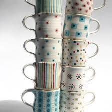 Hand Painted Coffee Cups ...