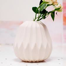 gorgeous blush pink geometric origami vase