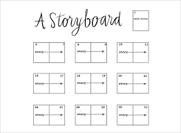 70+ Storyboard Templates - Free Word, Pdf, Ppt Documents Download