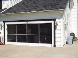 garage door screen enclosure