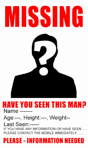 Missing Person Template