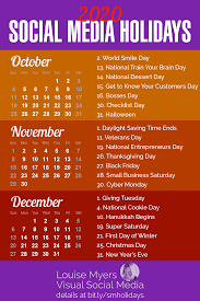 101 Social Media Holidays You Need 2019 20 Indispensable