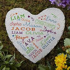 close to her heart personalized garden stone gifts for