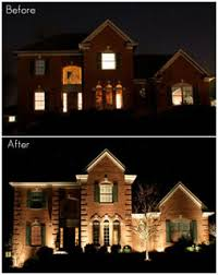 lighting for your home. Consider The Difference Between This Home, Before And After Landscape  Lighting Was Added: For Your Home