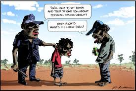 bill leak cartoon in the n an attack on aboriginal people  cartoon called an attack on indigenous ns