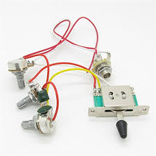 strat guitar wiring harness prewired 3x 500k pots 1 volume 2 tone Guitar Wiring Harness Uk strat guitar wiring harness prewired 3x 500k pots 1 volume 2 tone control knobs 5 way switch amazon co uk musical instruments guitar wiring harness kits for les paul