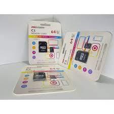 Thẻ nhớ HIKVISION 64GB - Chuyên dụng cho camera wifi - Thẻ nhớ máy ảnh