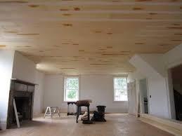 Ceiling Options For Basement