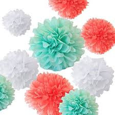 Tissue Paper Pom Poms Flower Balls Learn How To Make Four Different Types Of Tissue Paper