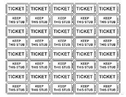 Cash Prize Raffle Ticket Template Design Your Own Tickets Uk