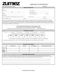 Free Printable Zumiez Job Application Form for Zumiez Job Application 20658