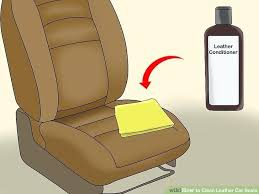 how to remove stains from leather car seats image titled clean step 8 water do you