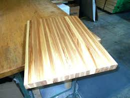 how to finish butcher block countertops works on wood concrete granite copper stainless steel