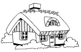 Small Picture Printable House Coloring Pages For Kids Little On The Prairie