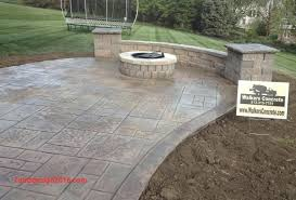 covered stamped concrete patio. Cement Patio Cost Lovely Stamped Concrete Covered