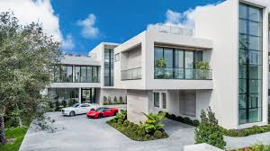 Three Story Commercial Building Designs Carriage House Residence Modern Home In La Gorce Miami