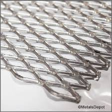 Raised Expanded Metal Size Chart Metalsdepot Aluminum Expanded Sheet