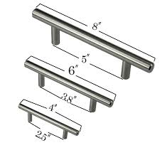 4 6 8 stainless steel t bar pull hardware drawer kitchen cabinet door handles by hobarte dhgate com