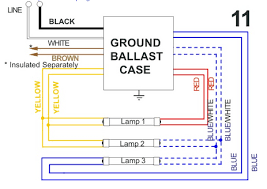 allanson 4120 at magnetic sign ballast 20 to 40 feet total T12 Ho Ballast Wiring Diagram allanson 2 lamp wiring; allanson wiring diagram 2 Lamp T12 Ballast Wiring Diagram