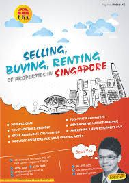 bold colorful flyer design for sean yeo by theziners design flyer design by theziners for singapore property agent wants to stand out from the rest