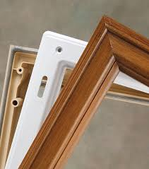 odl trisys frame in fibermate white oak or mahogany material door glass inserts