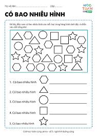 Những bài tập toán tư duy cho bé 5 tuổi hay và phù hợp lứa tuổi mầm non    Bài tập, Mầm non, Toán học