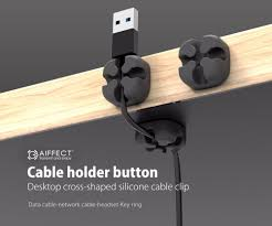 package contents 6 x silicone cable manager
