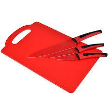SATOSHI <b>Набор ножей</b> кухонных 4пр, <b>c</b> разделочной доской ...