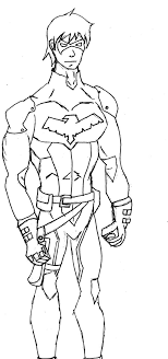 Lego Nightwing Coloring Page Free Printable Pages Within Agmcme
